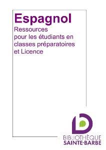 bibliographie espagnol prepa licence