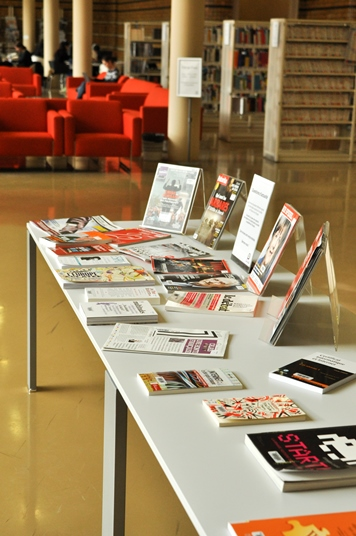 tables de presentation des collections