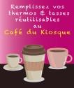 Affiche Cafe du Kiosque