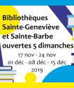 ouverture le dimanche BSB 2019