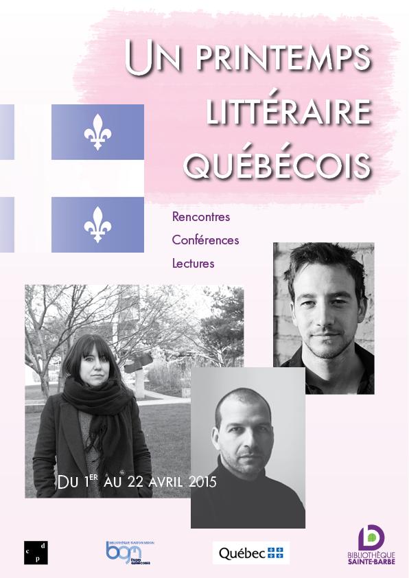 Un printemps littéraire québécois
