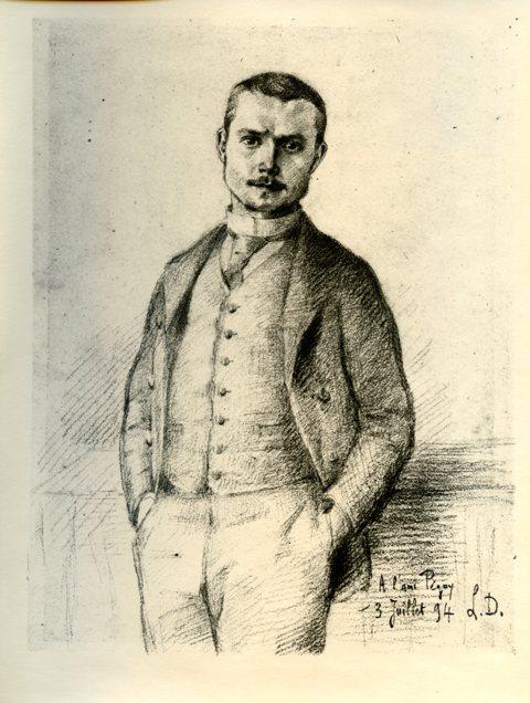 Péguy par Deshairs 1894