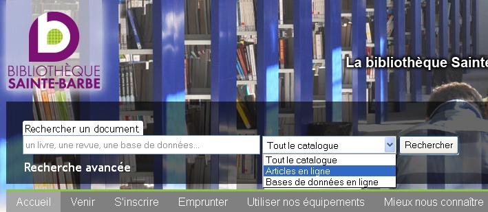 recherche catalogue 1