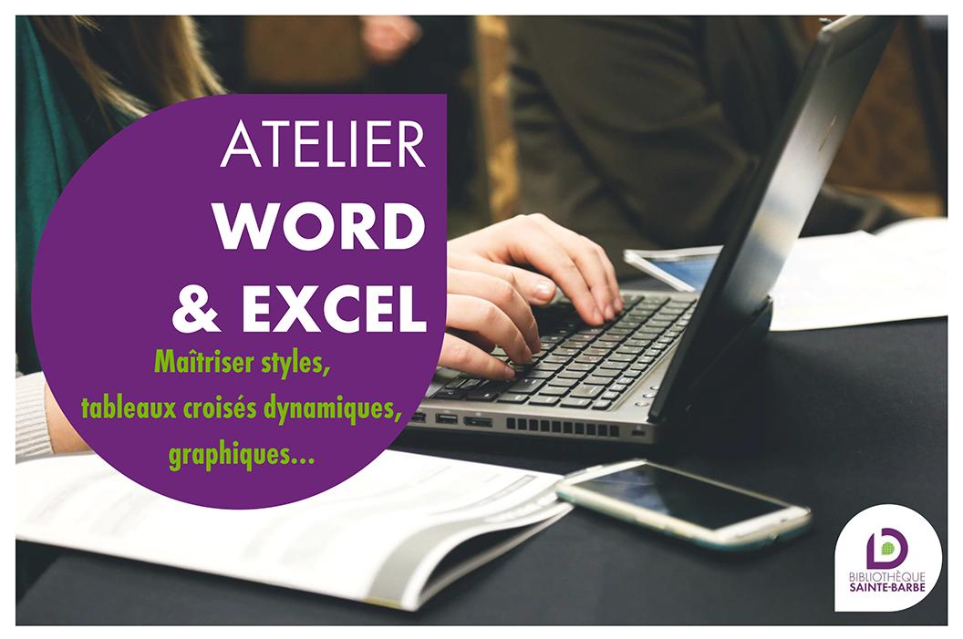 Atelier Word Excel 2018